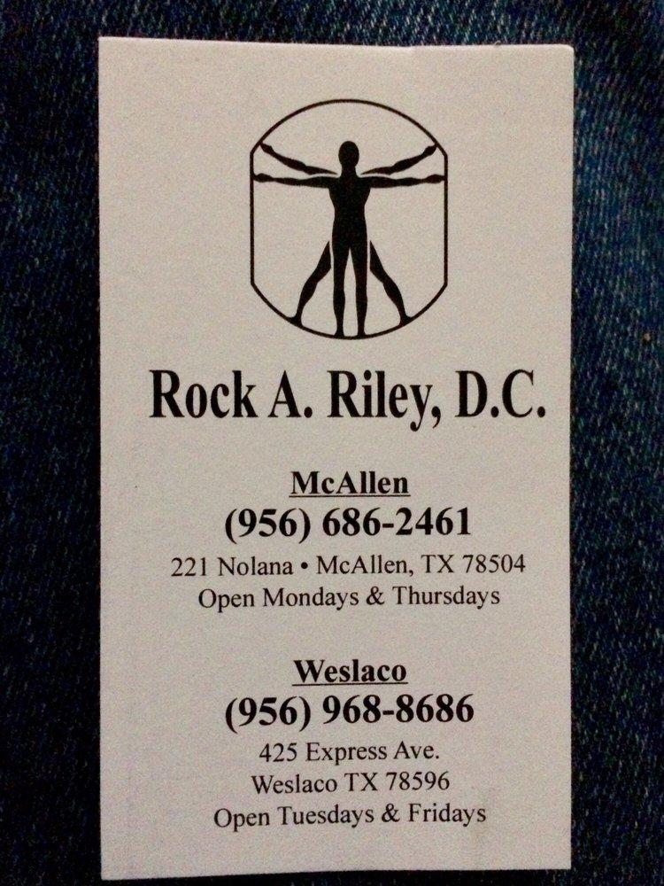 Rock A. Riley D.C: 421 S International Blvd, Weslaco, TX