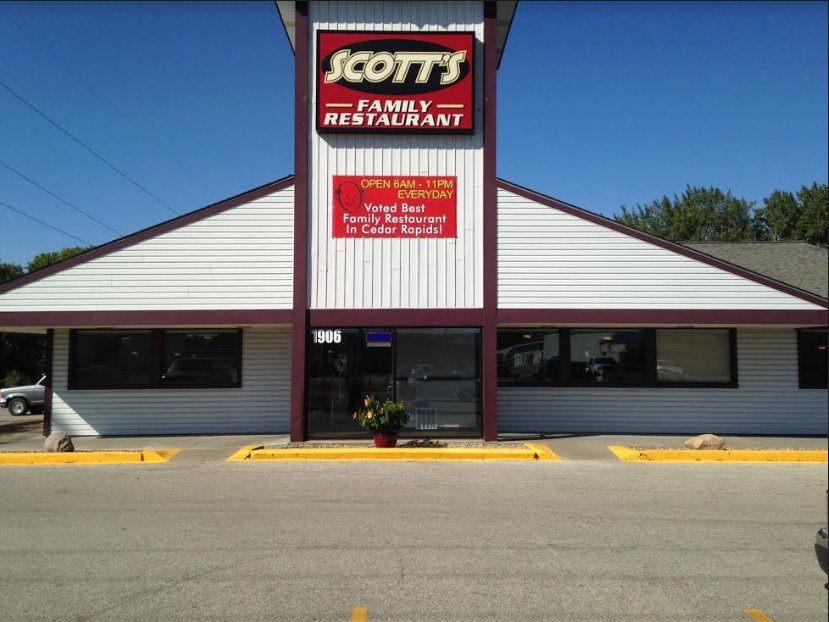 Photo Of Scott S Family Restaurant Cedar Rapids Ia United States Voted Best