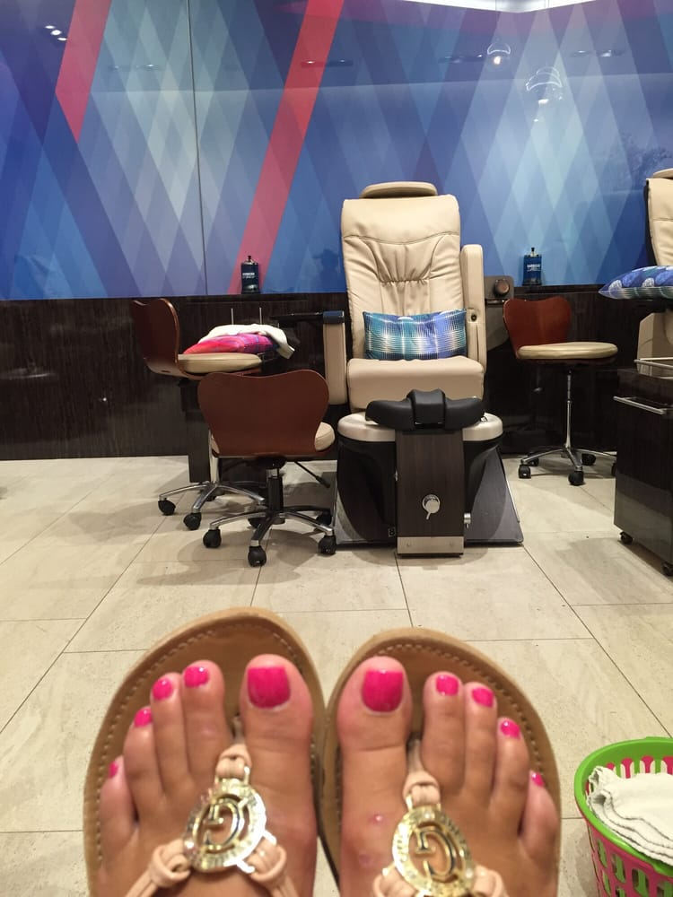 they were very sensitive with my horrible feet i came in with scary