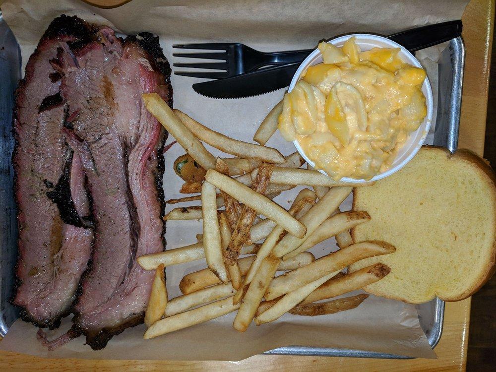 Food from Papa Buck's BBQ