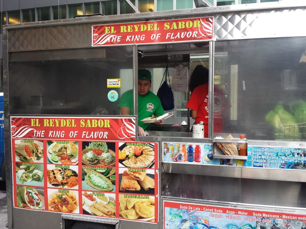 Should I Try The Food Stands At New York