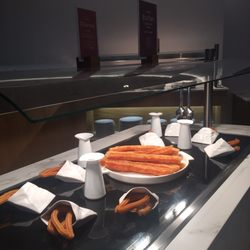 photo of hotel barcel torre de madrid madrid spain churros hot and fresh