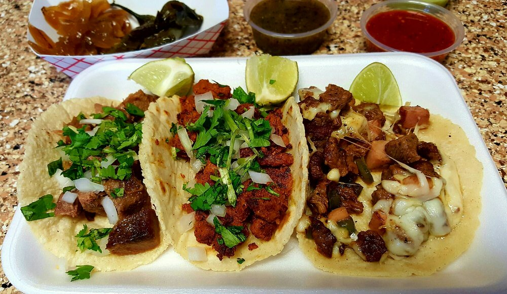 Delicious Beef Tongue, al Pastor and Chiwas Tacos. - Yelp