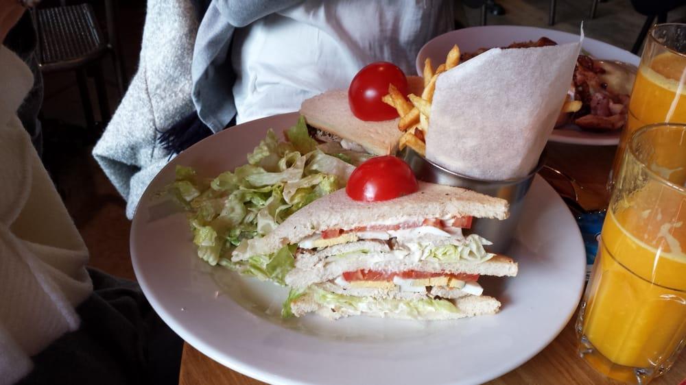 club sandwich  yelp,American Kitchen Paris,Kitchen cabinets
