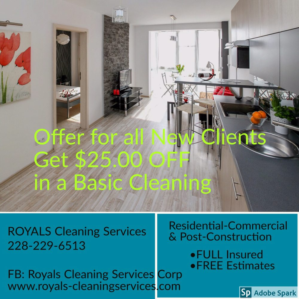 Royals Cleaning Services: Gulfport, MS