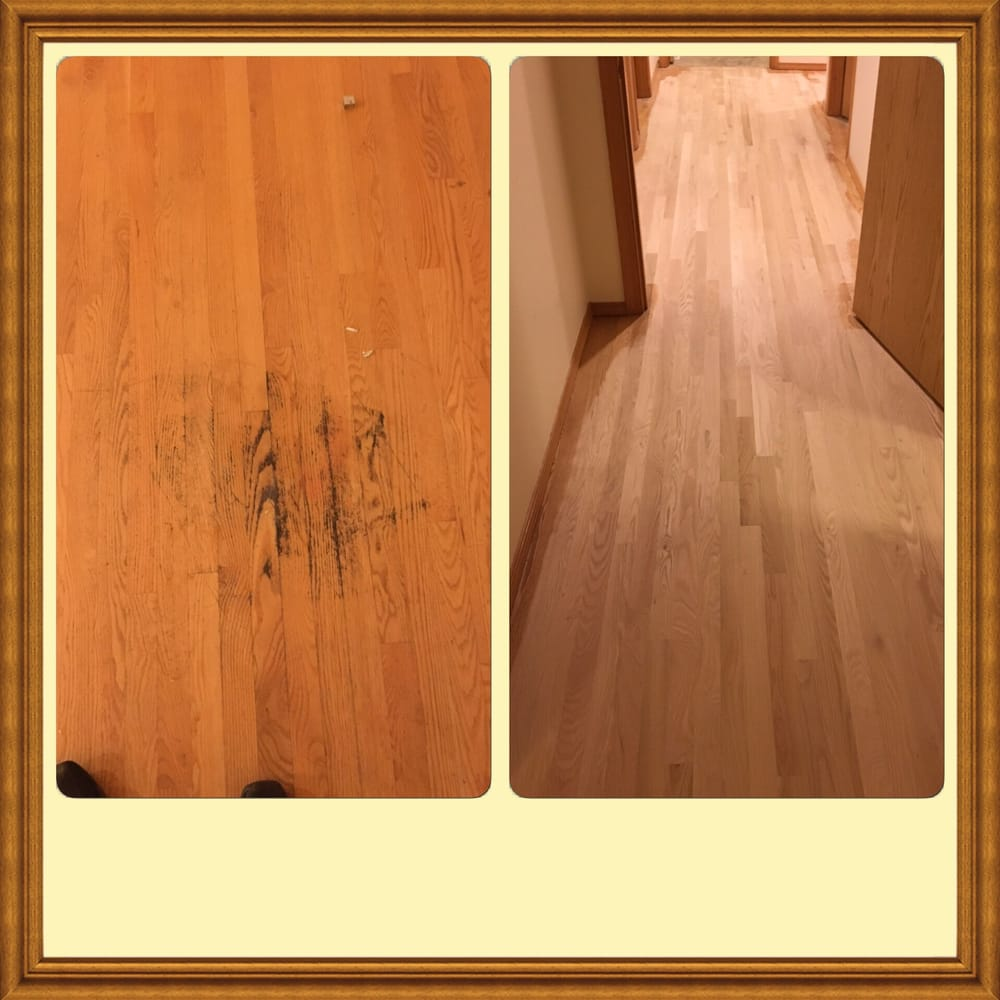Before and after muckelshoot housings project auburn wa for Wood floor 7 days to die