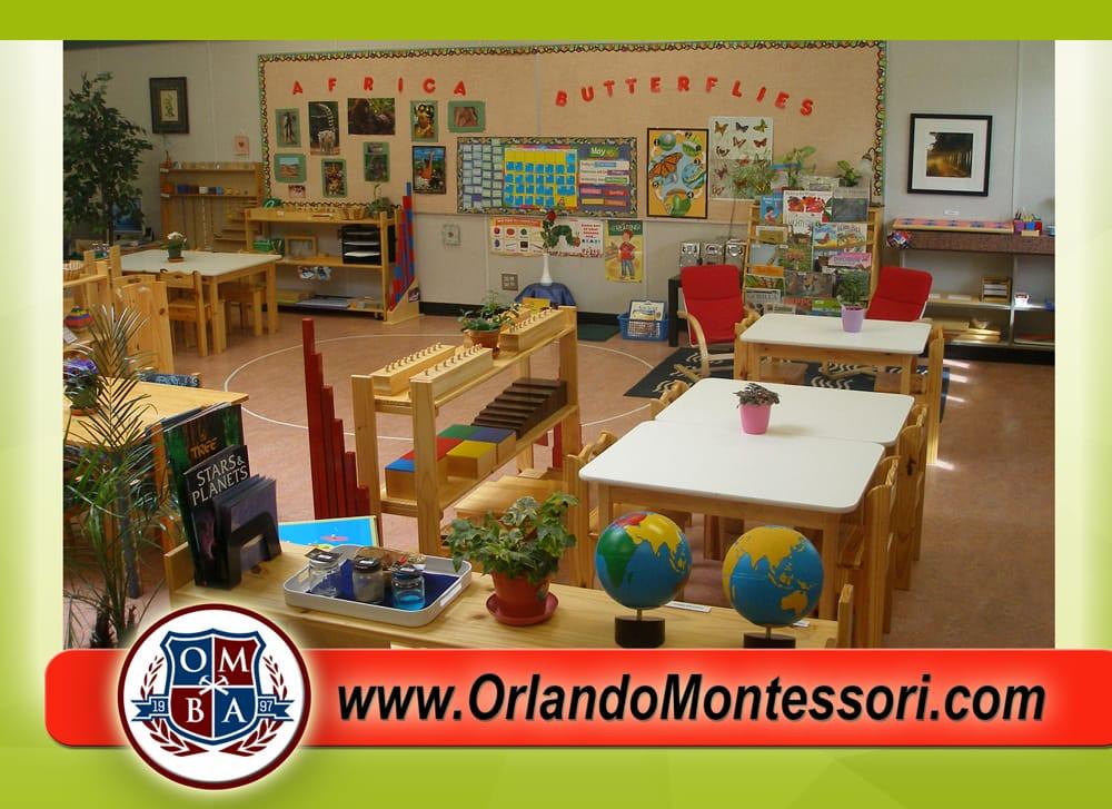 Orlando Montessori  Bilingual Academy: 61 S Dean Rd, Orlando, FL