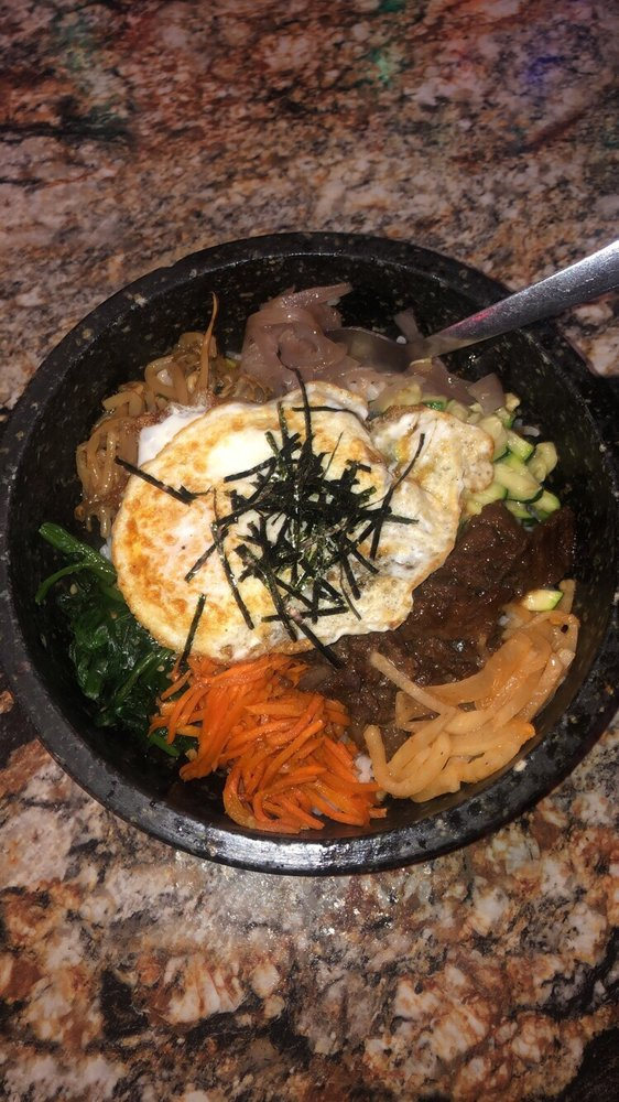 Food from Gangnam Korean BBQ
