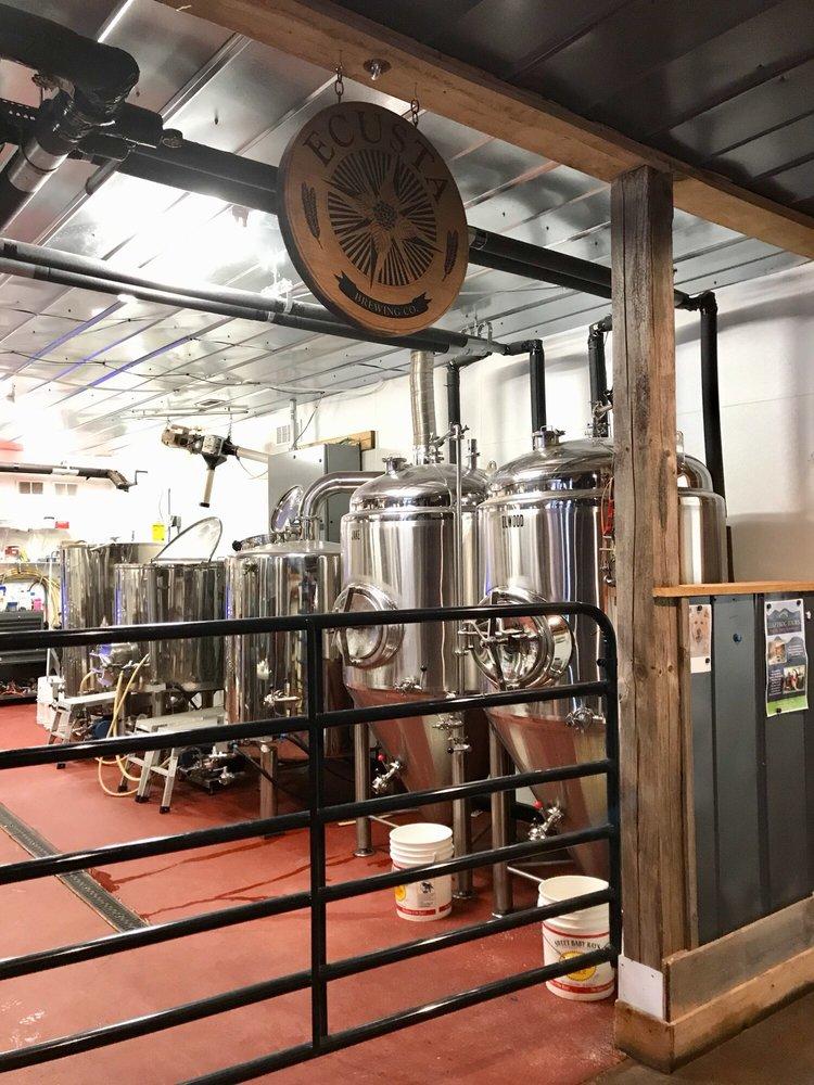 Ecusta Brewing: 49 Pisgah Hwy, Pisgah Forest, NC