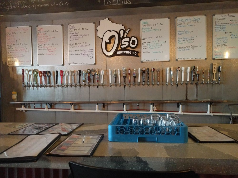 Social Spots from O'so Brewing Company