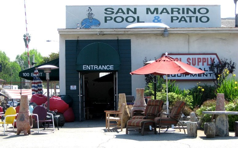 San Marino Pool Patio Closed Furniture Stores 100 E California Blvd Pasadena Pasadena