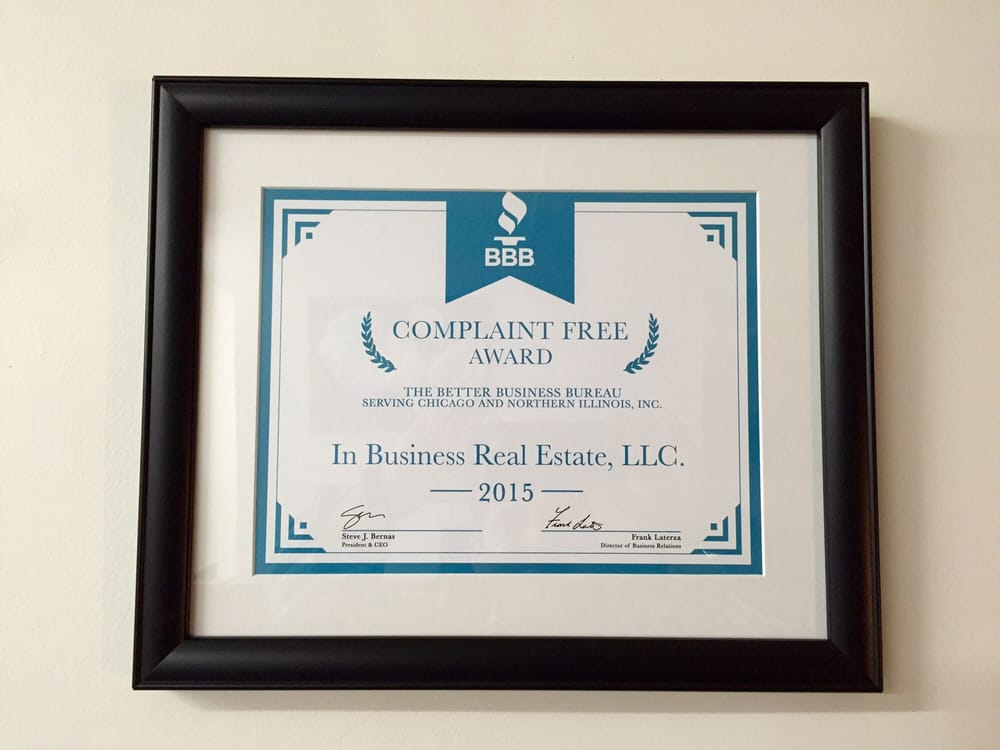 In Business Real Estate