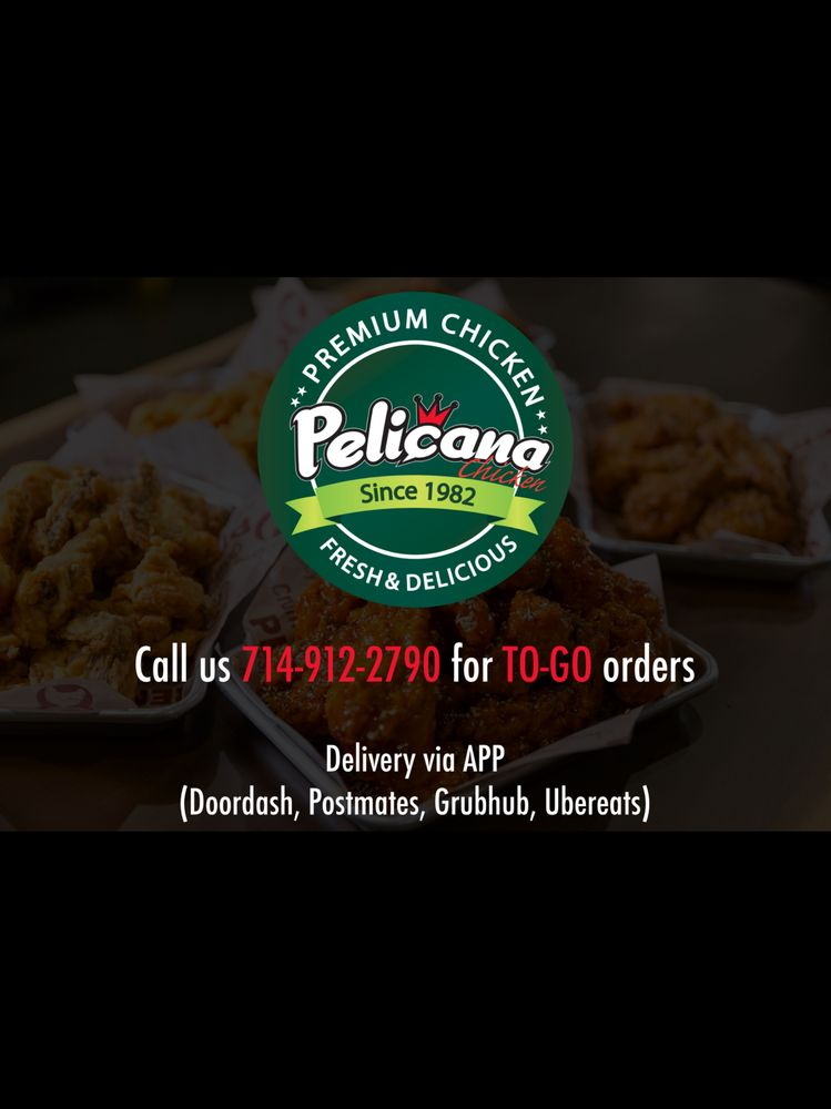 Pelicana Chicken: 6930 Beach Blvd, Buena Park, CA