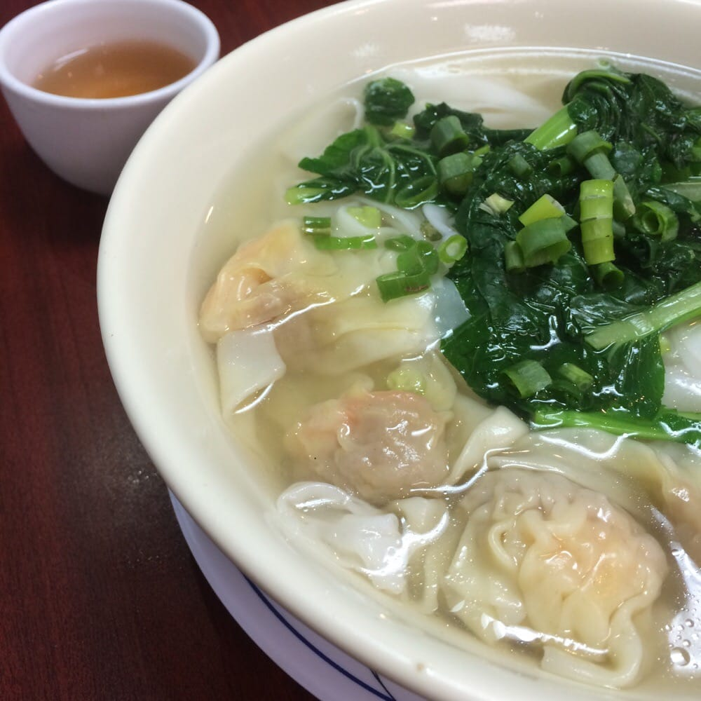 Look Funn And Won Ton Soup