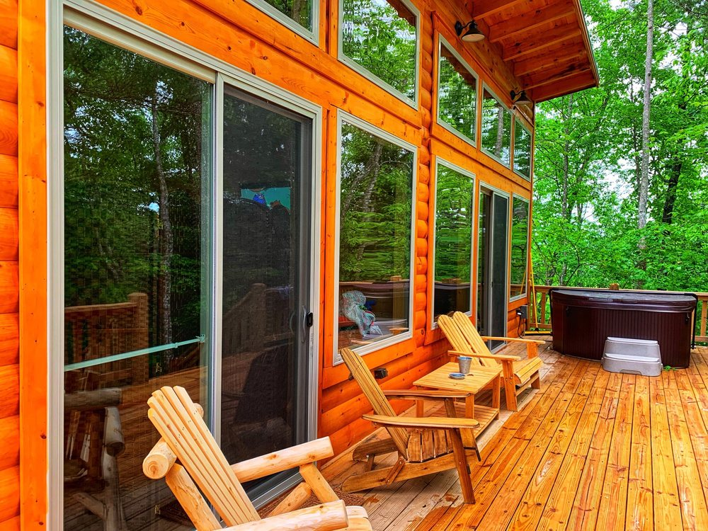 Red River Gorge Cabin Rentals: 99 Eagle Ridge Rd, Campton, KY