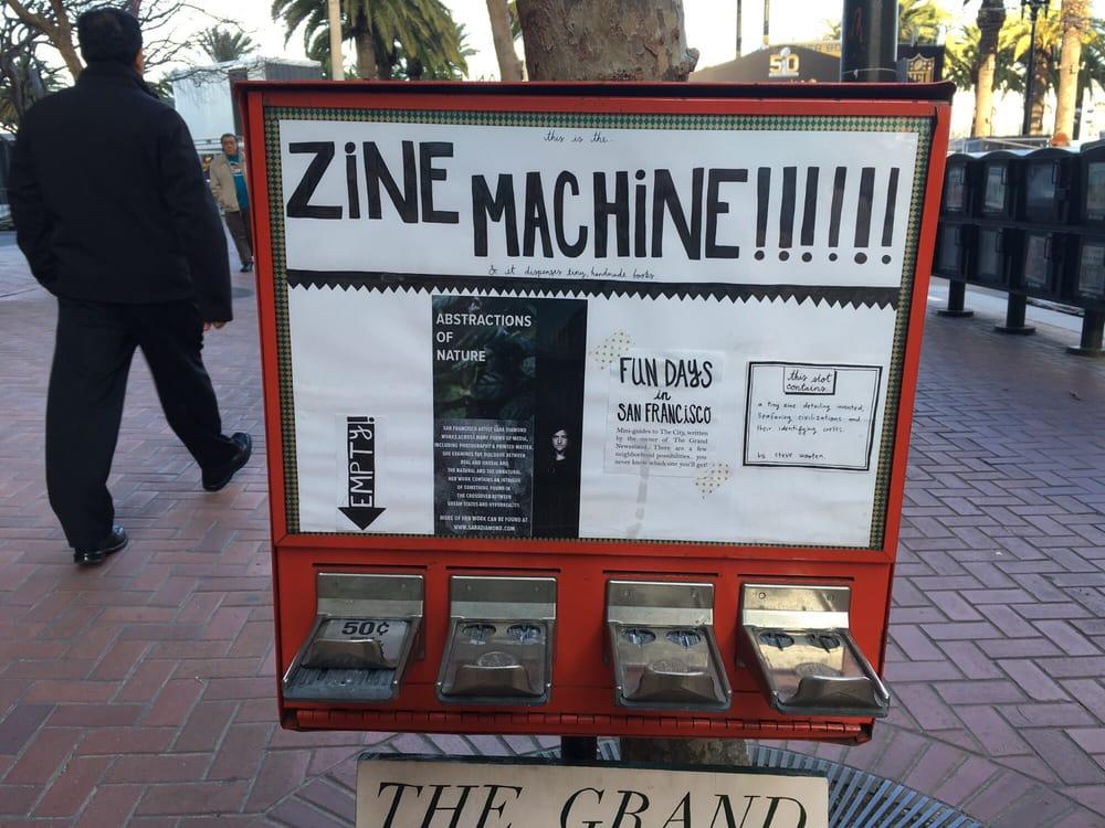The Grand Newsstand: Market St At Steuart St, San Francisco, CA