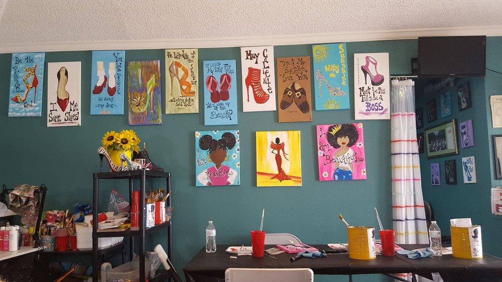 The Shoe Chick Art Studio