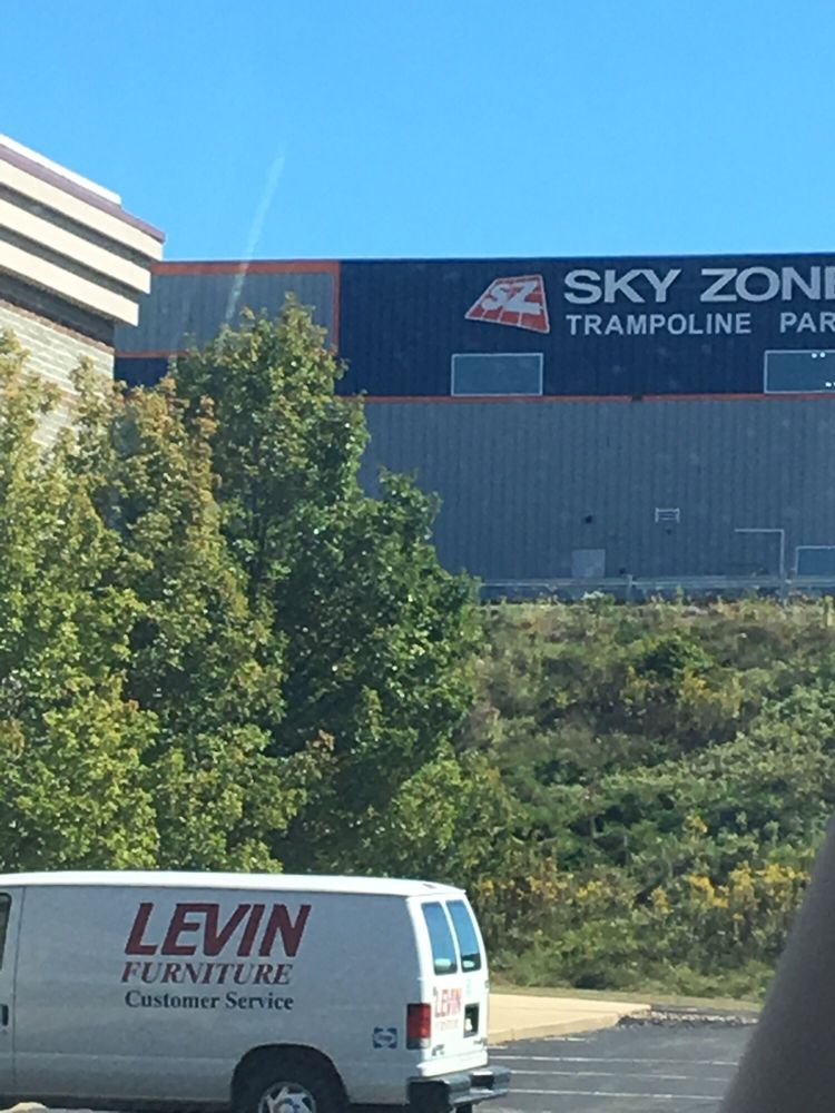 Sky zone from levins furniture store view yelp for Furniture zone near me