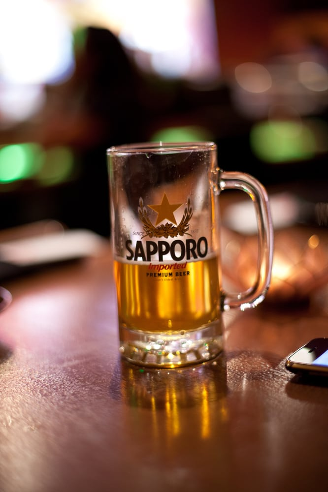 Nothing like cold sapporo on draft kanpai yelp for Akane japanese fusion cuisine