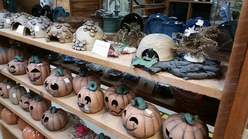 Wizard of Clay Pottery: 7851 State Rte 20A, Bloomfield, NY