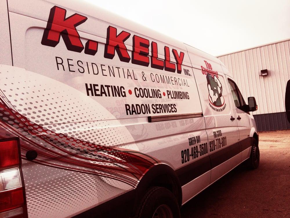 K Kelly Inc Heating Cooling & Plumbing: 2057 Bellevue St, Green Bay, WI