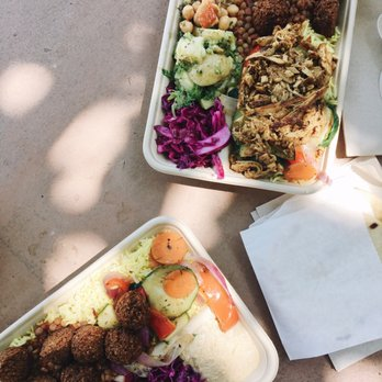 Photo of Yalla Mediterranean   Fremont  CA  United States  Falafel plate   bottomYalla Mediterranean   437 Photos   290 Reviews   Mediterranean  . Healthy Places To Eat In Fremont Ca. Home Design Ideas