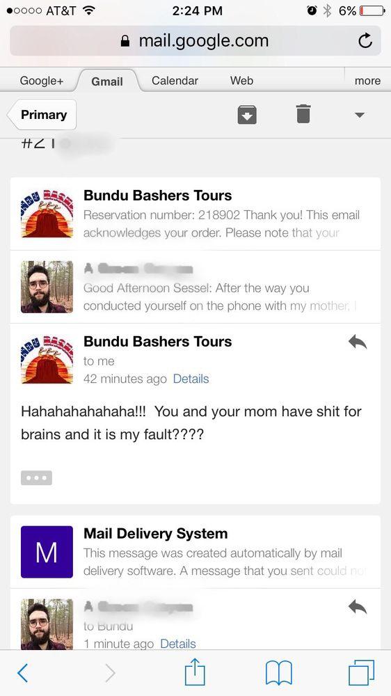Bundu Bashers Tours: 491 S Main St, Cedar City, UT