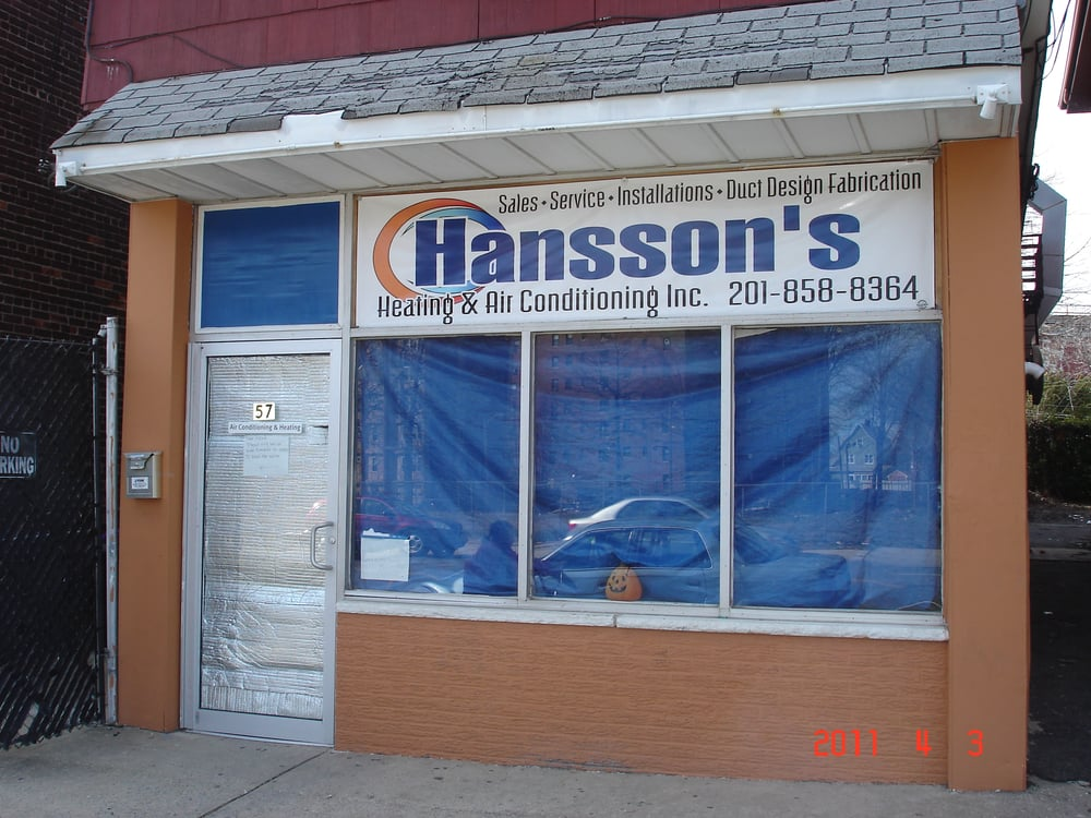 Hansson's Air Conditioning & Heating: 22 Elm Ct, Bayonne, NJ