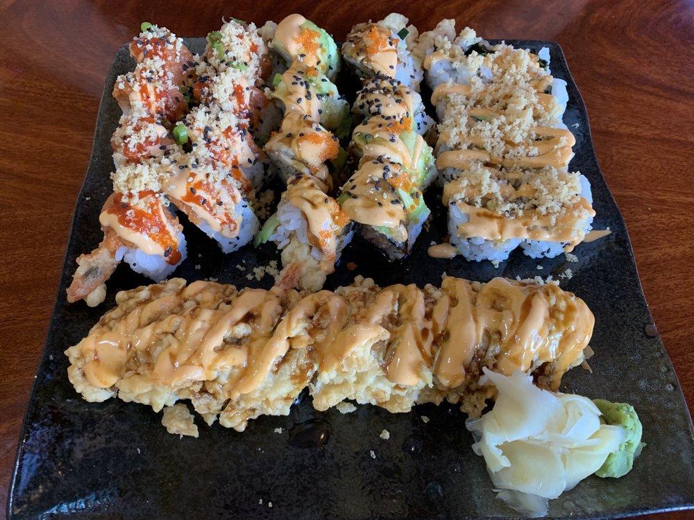 Food from Ocean Sushi and Teriyaki