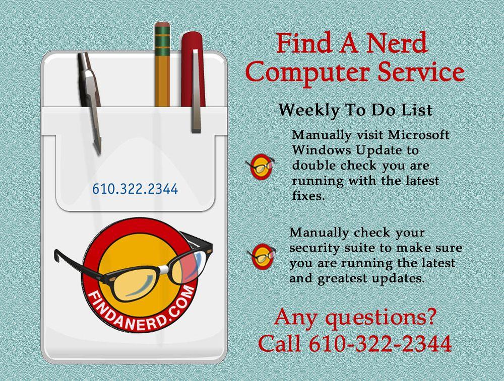 Find A Nerd Computer Services: 12 Pinetree Dr, Audubon, PA