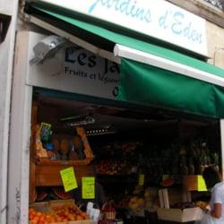 Le jardin d eden greengrocers 2 place st eug ne saint for Restaurant le jardin marseille