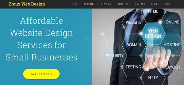 Zreux Web Design - Request a Quote - Web Design - Lincoln Park