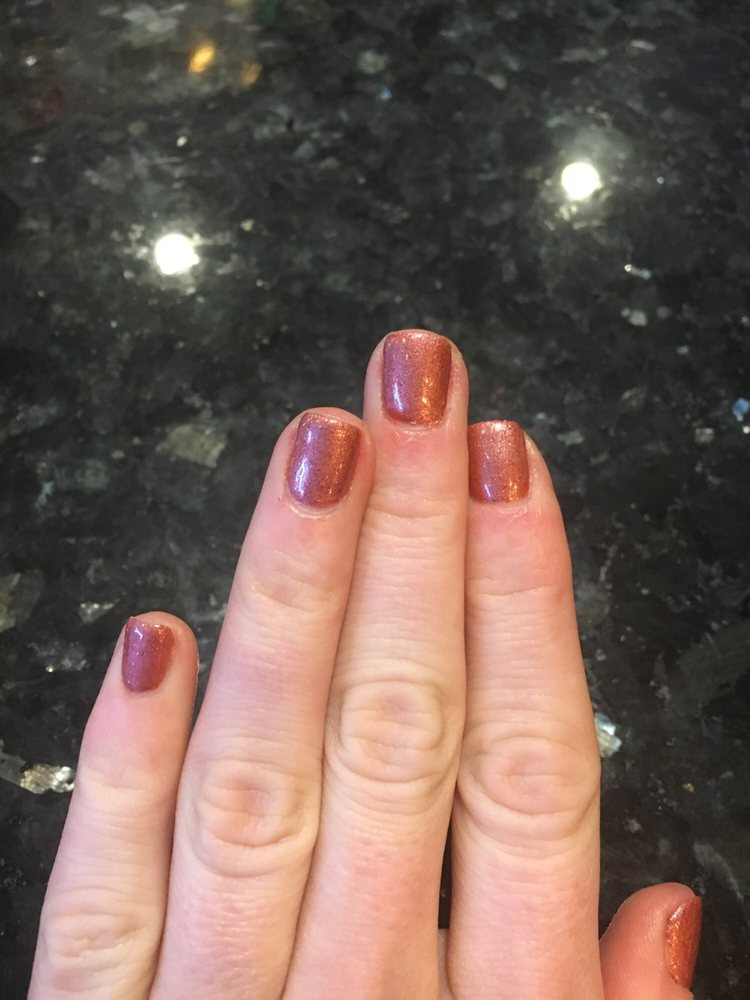 nails look great! absolutely love the color - suggested to me my ...