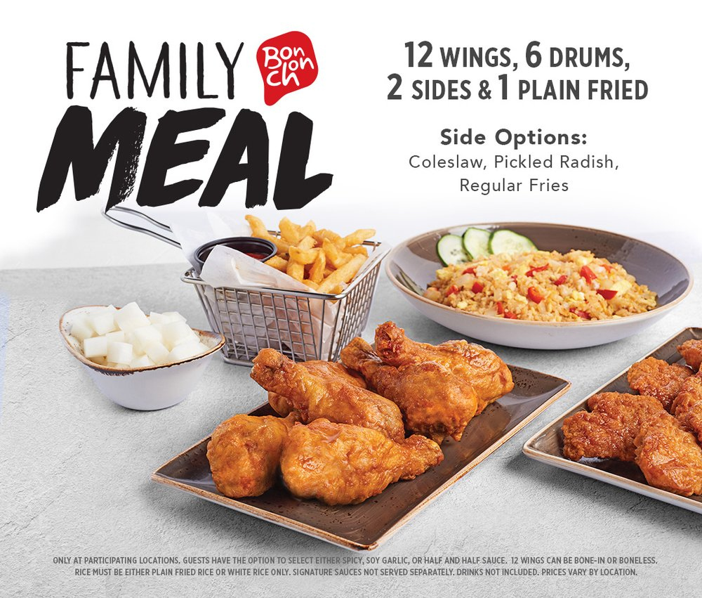 Food from Bonchon Union
