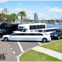 His & Hers Limousine Service logo