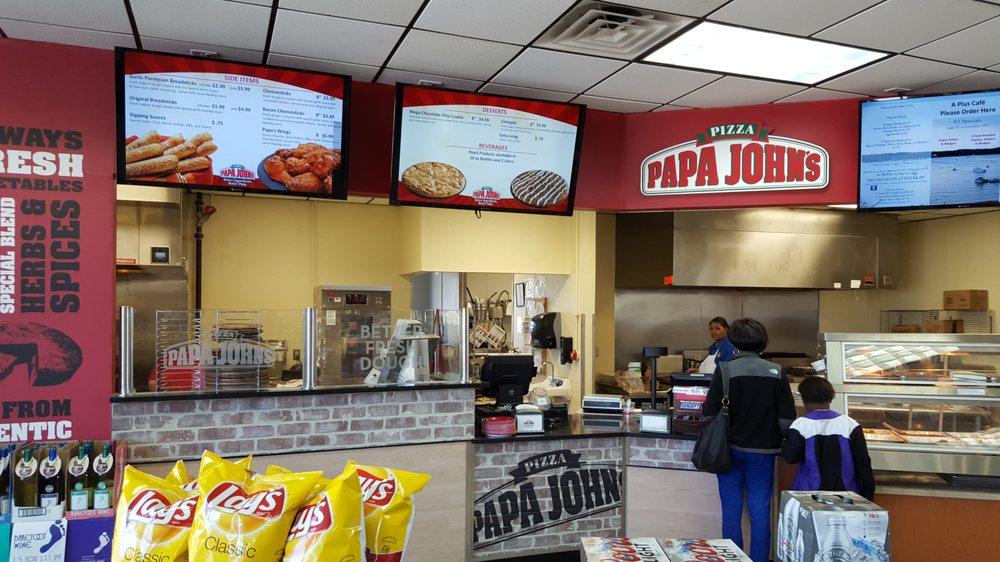 Papa John's Pizza: Circle K #24, Clarksville, VA