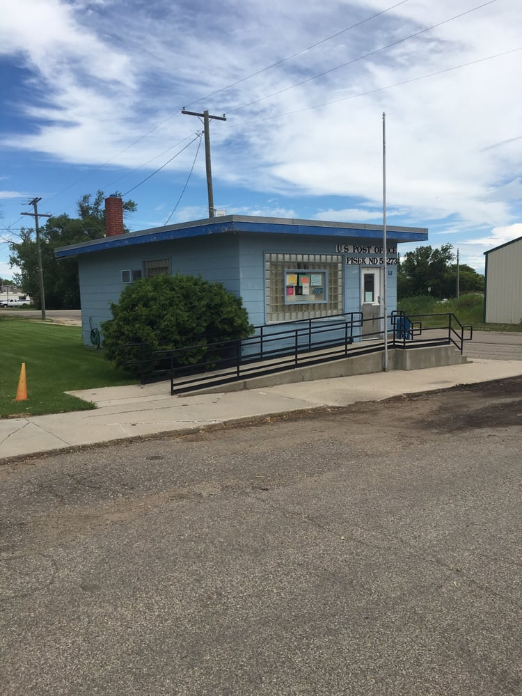 US Post Office: 68 Lovick Ave, Pisek, ND
