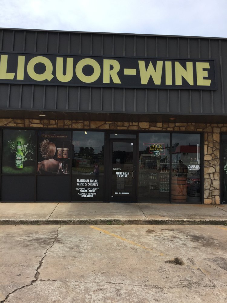 Harrah Road Wine & Spirits: 3400 S Harrah Rd, Harrah, OK