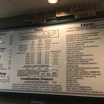 Photo Of Petrillo S Italian Restaurant Glendora Ca United States