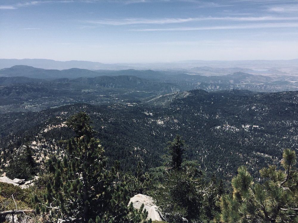Photo of Tahquitz Peak via Devil's Slide Trail - Idyllwild-Pine Cove, CA, United States. Amazing view of Idyllwild