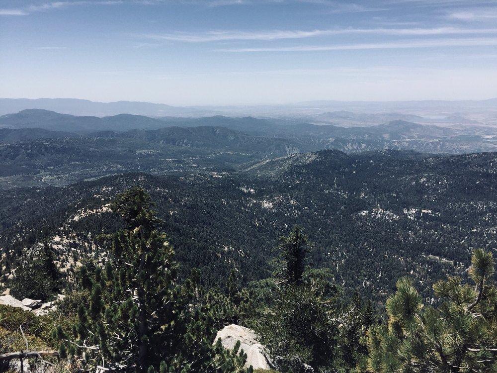 Photo of Tahquitz Peak via Devil's Slide Trail - Idyllwild-Pine Cove, CA, United States. Amazing view of Idyllwild