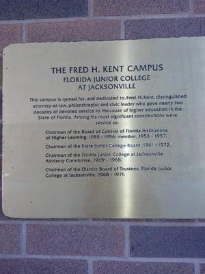 Florida State College of Jacksonville - Kent Campus 3939 Roosevelt ...