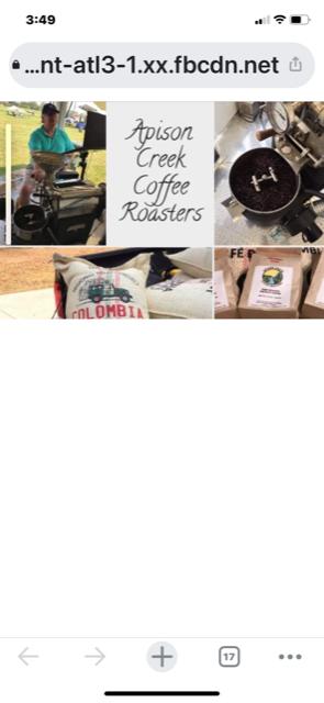 Apison Creek Coffee Roasters: 4025 Bill Jones Rd, Apison, TN