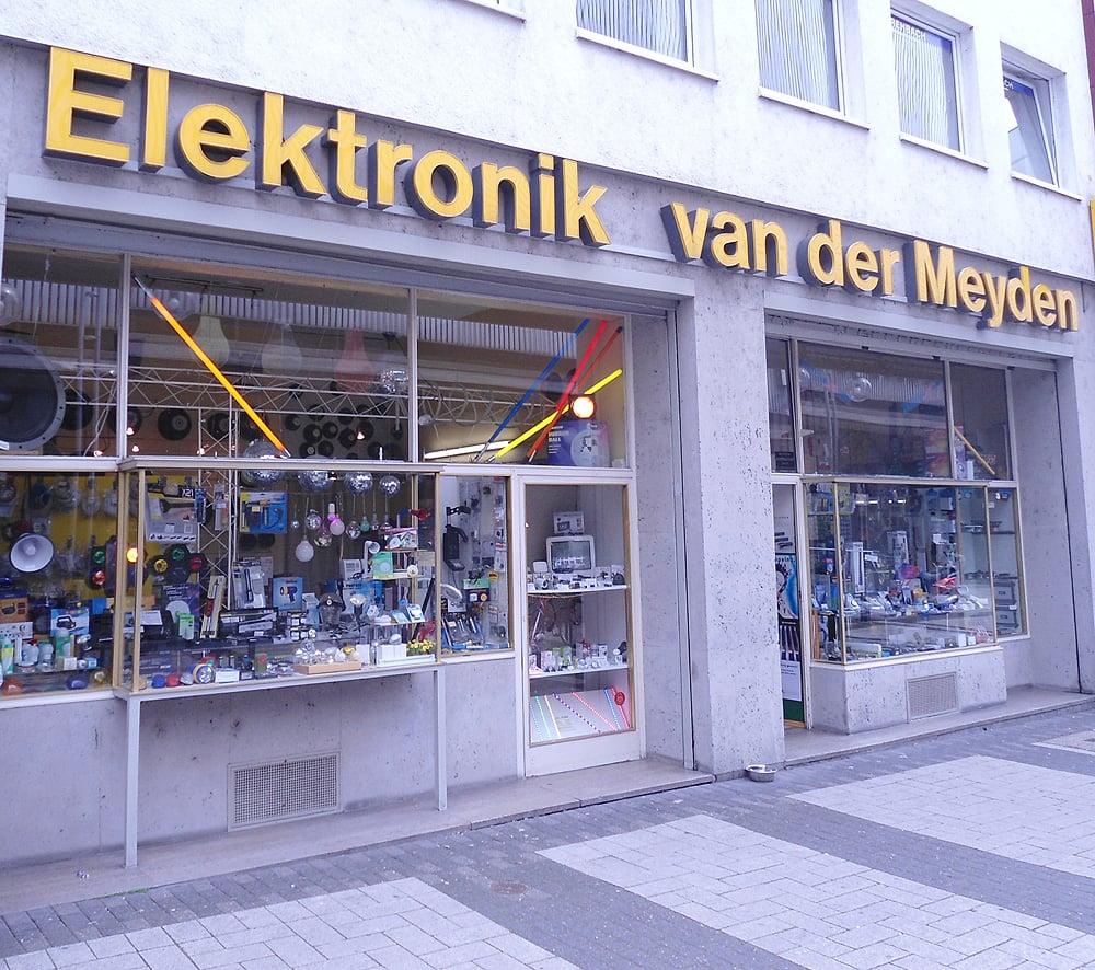 Elektronik van der Meyden - Elektronik - Breite Str. 101, Neumarkt ...