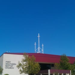 First Southern Baptist Church Churches S Sooner Rd - Southern baptist in us map