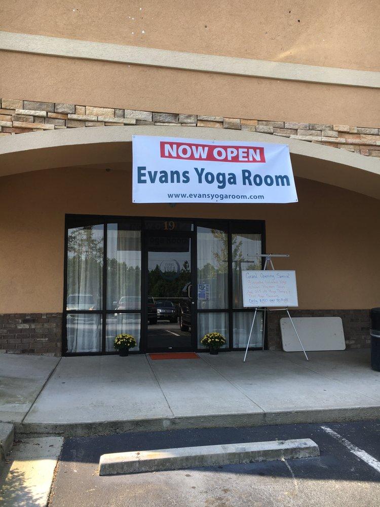 Evans Yoga Room: 4460 Washington Rd, Evans, GA
