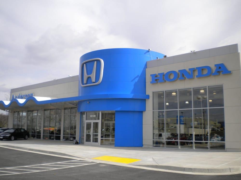 Anderson honda 39 reviews auto repair 10139 york rd for Honda 800 number