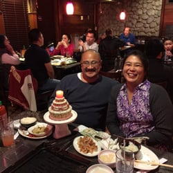 Photo Of Oz Korean Bbq Sacramento Ca United States Everyone S Birthday Cake