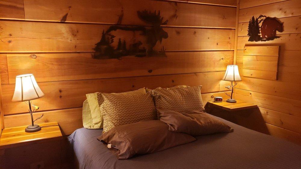 Hot Springs Log Cabins: 5830 Nc Hwy 209, Hot Springs, NC