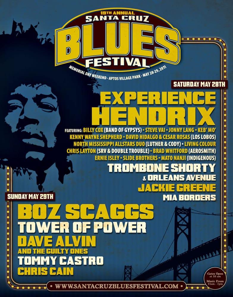 Santa Cruz Blues Festival